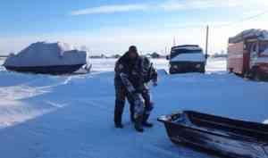 Сотрудники парка «Онежское Поморье» спасли заблудившегося рыбака