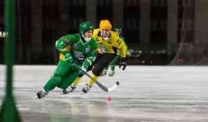 Архангельский «Водник» разгромил мурманскую команду на чемпионате России по хоккею с мячом