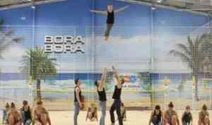 «BORA BORA» в Архангельске: вечное лето для занятий пляжными видами спорта