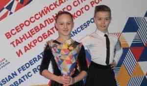 Танцевальная пара новодвинского клуба стала пятой в России