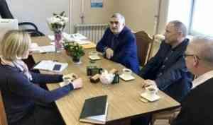 Ольга Горелова и бизнес-объединения Поморья на защите прав предпринимателей