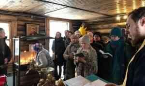 Северяне молитвенно почтили память блаженной Матроны Московской