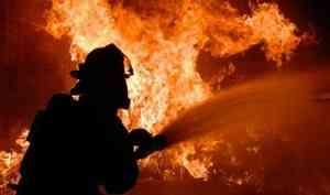 На Садовой в Архангельске горела квартира в кирпичном доме