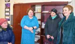 Председатель Архангельского областного Собрания посетила с рабочим визитом поселок Самодед
