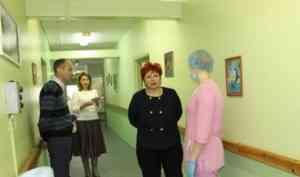 Уполномоченный по правам человека в Архангельской области Любовь Анисимова посетила Маймаксанский психоневрологический интернат