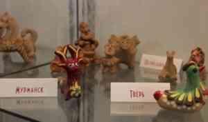 В Добролюбовке открылась выставка глиняной игрушки «Игры всерьез»