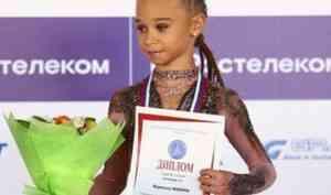 Уроженка Поморья Вероника Жилина выиграла короткую программу на первенстве России по фигурному катанию