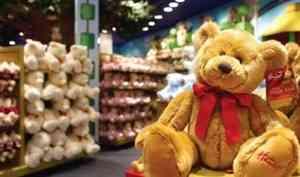 В Архангельске приставы арестовали игрушки на один миллион рублей