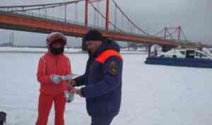 В Архангельской области начали закрываться ледовые переправы