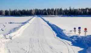 Потепление привело к закрытию первых ледовых переправ в Архангельской области