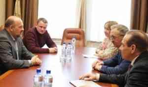 Активисты ОНФ в Архангельской области передали общественные предложения губернатору