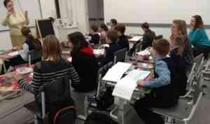 Художественная студия открылась при Епархиальной воскресной школе Архангельска