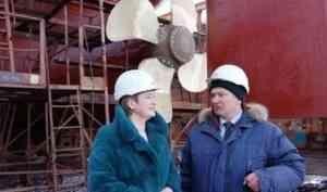 Екатерина Прокопьева посетила завод «Красная Кузница» с рабочим визитом