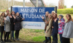 Учебная поездка студентов САФУ во Францию