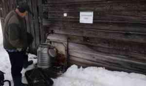 «Будем пить ржавчину всю весну»: в Виноградовском районе людям приходится набирать техническую воду