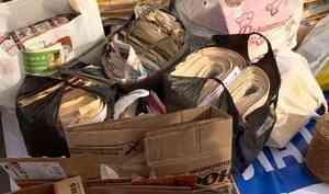 Более 3 тонн макулатуры собрал вАрхангельске «Бумагомобиль»