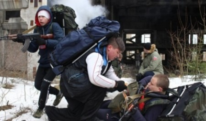 «Юнармейский спецназ» собрал в Каргополе более 30 участников