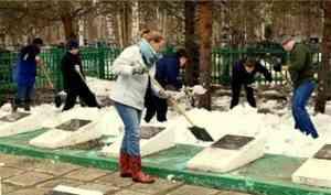 Волонтеры Архангельской области объявили «Зеленую весну»