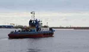 Бесхозный корабельный канат стал причиной ЧП на буксире в Архангельске