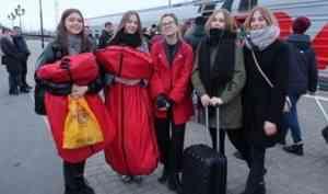Делегация Архангельской области отправилась на Дельфийские игры