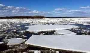 Ледоход в Поморье развивается в пятистах километрах от Архангельска