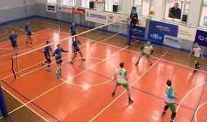 ВАрхангельске дали старт 17 волейбольному турниру имени Юрия Медуницина