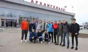 В Архангельск прибывают участники всероссийского финала по мини-футболу