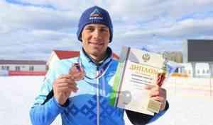 Лыжник из Архангельской области Алексей Шемякин взял золото «Хибинской весны»