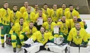 Хоккейная дружина «УЛК» – чемпион Поморья!