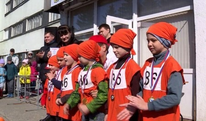 ВАрхангельске прошла легкоатлетическая эстафета напризы тралового флота