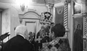 Митрополит Даниил совершил первое богослужение Страстной недели