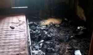 Курение в постели привело к гибели мужчины в Верхнетоемском районе