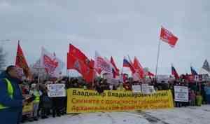 Скандал в Северодвинске: народ попросил у Путина отставки Орлова