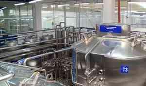 Акционерное общество «Молоко» завершило первый этап грандиозной реконструкции предприятия