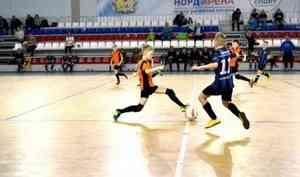 В Архангельске продолжается крупнейший детский турнир по мини-футболу
