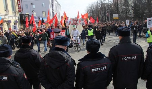 Протокол — в подъезде: в Архангельске студентку техникума оштрафовали за митинг и шествие 7 апреля