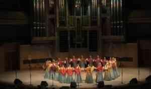 Северный хор выступил в международном доме музыки