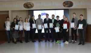 В САФУ вручены награды победителям Ломоносовских чтений