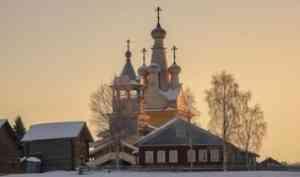 Церковь Одигитрии в Кимже: работы по сохранению памятника деревянного зодчества будут завершены