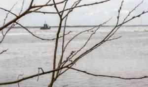 Акватория порта Архангельск очистится ото льда пятого мая
