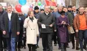 Первомай объединяющий: северяне отмечают День Весны и Труда