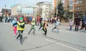 В Архангельске прошла 74-ая Майская легкоатлетическая эстафета