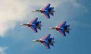 В Архангельске 22 сентября выступят пилоты «Русские витязи»